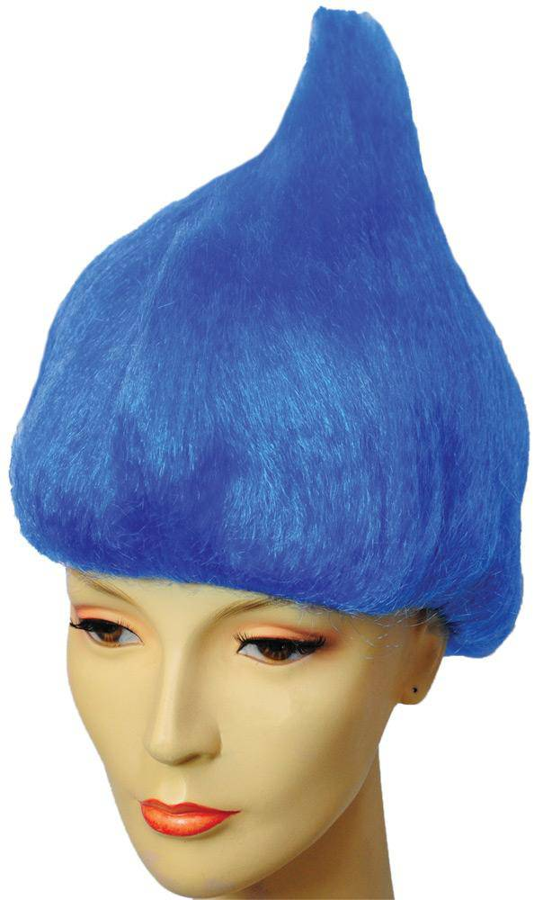 Lacey Wigs Women's Thing Blue Storybook Theme Adult Wig - Costume Arena