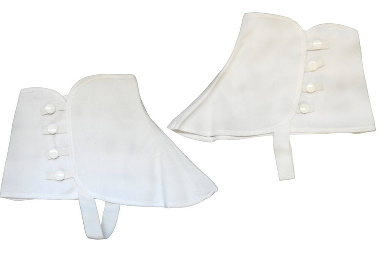 Morris Costumes Adult Canvas Spats Shoe Cover Accessory - Costume Arena