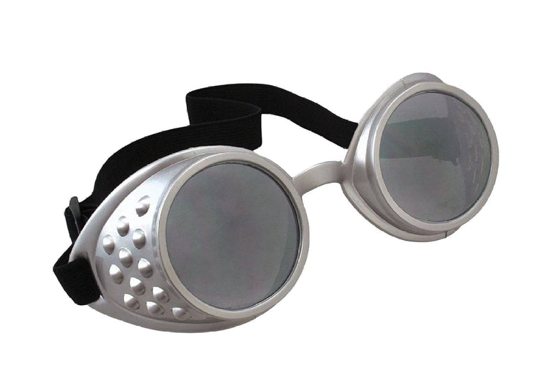 Morris Costumes Black Aviator Goggles Glasses Accessory - Costume Arena