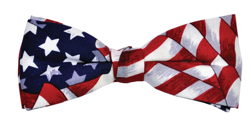 Morris Costumes Bow Tie Uncle Sam Theme Funny Accessory - Costume Arena