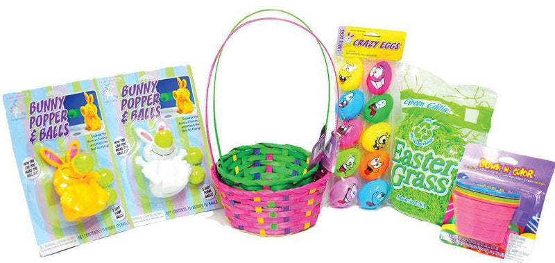 Morris Costumes Easter Basket Kit Child Costume Accessory - Costume Arena