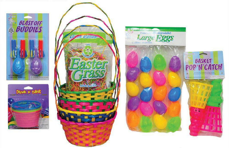 Morris Costumes Easter Basket Super Kit Costume Accessory - Costume Arena