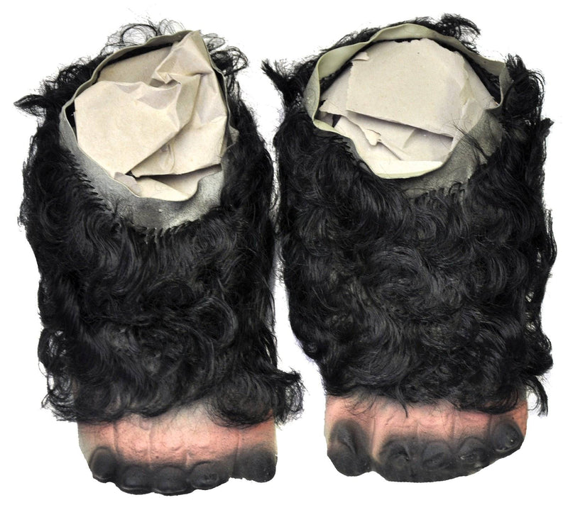 Morris Costumes Gorilla Feet w/ Hair Scary Costume Accessory - Costume Arena