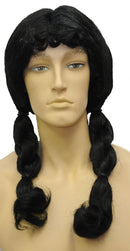 Morris Costumes Indian Princess Historical Adult Black Wig - Costume Arena