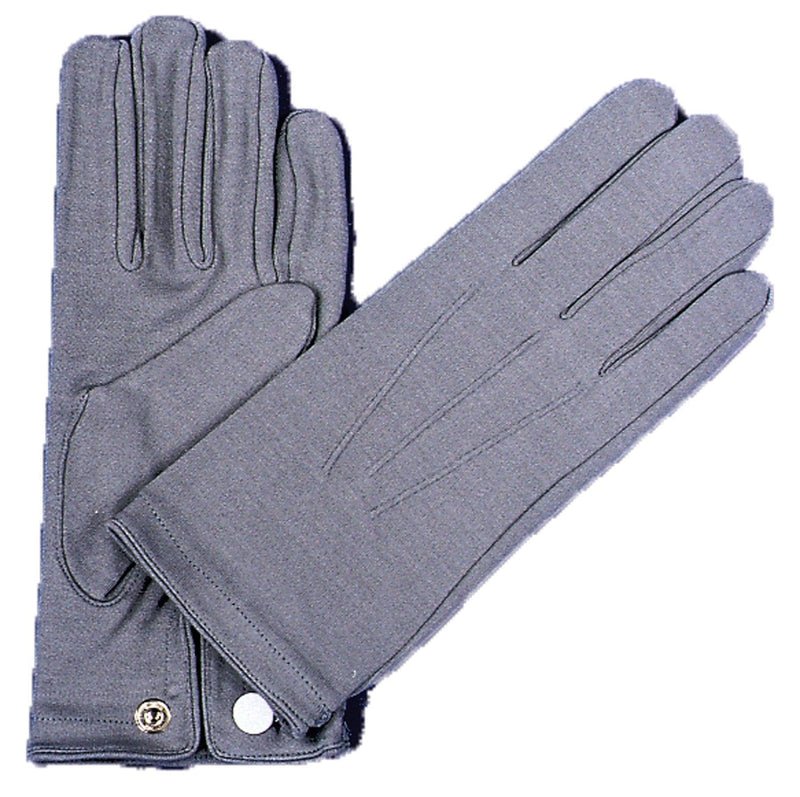 Morris Costumes Men's Nylon Gloves W Snap Fancy Accessory - Costume Arena