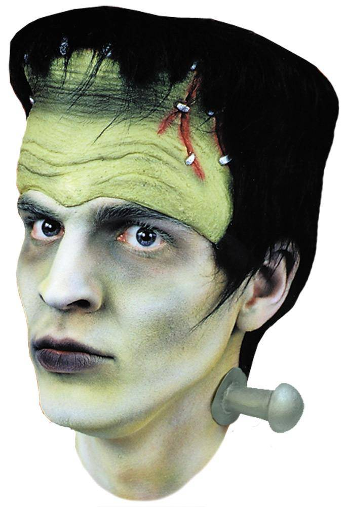Morris Costumes Monster Headpiece Hair And Bolts Accessory - Costume Arena
