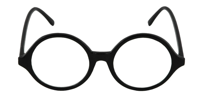 Morris Costumes Professor Black Frame Glasses Accessory - Costume Arena
