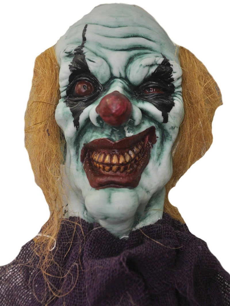 Morris Costumes Scary Hanging Devil Clown Decoration Prop - Costume Arena