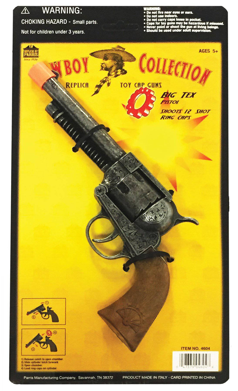 Parris Big Tex Pistol Western Fighter Accessory - Costume Arena
