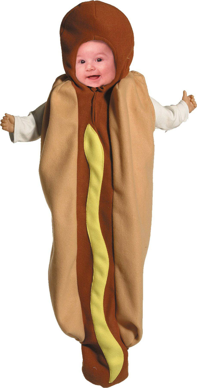 Rasta Imposta Adorable Hot Dog Bunting Infant Costume - Costume Arena