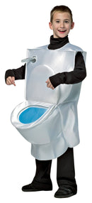 Rasta Imposta Boys' Funny Theme Party Toilet Child Costume - Costume Arena