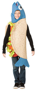 Rasta Imposta Funny Party Outfit Fish Taco Child Costume - Costume Arena
