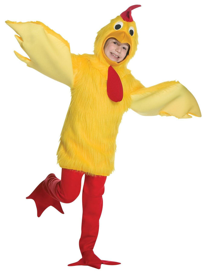 Rasta Imposta Funny Theme Fuzzy Chicken Child Costume - Costume Arena