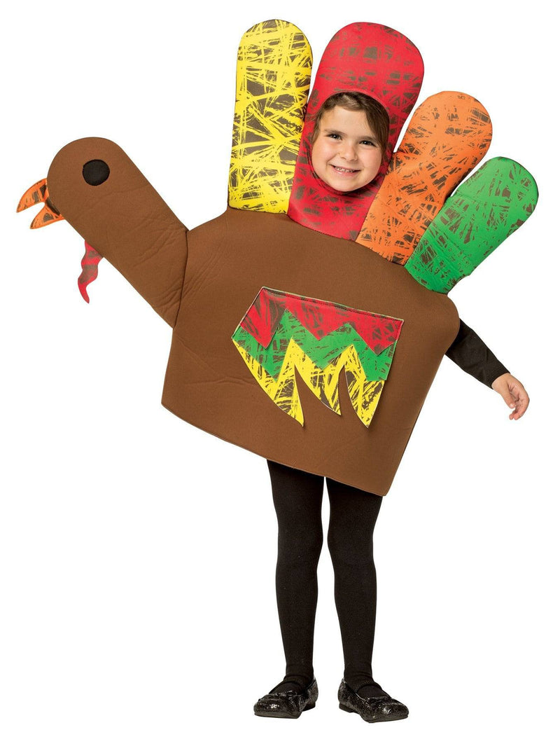 Rasta Imposta Funny Theme Party Outfit Hand Turkey Costume - Costume Arena