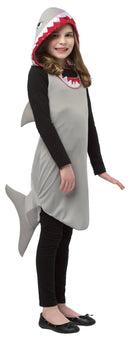 Rasta Imposta Girls' Funny Shark Dress Tween Child Costume - Costume Arena