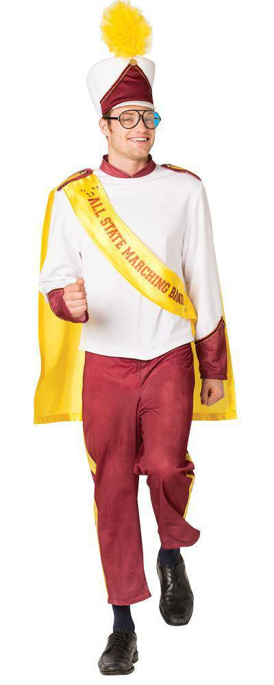 Rasta Imposta Men's Funny Marching Band Adult Costume - Costume Arena