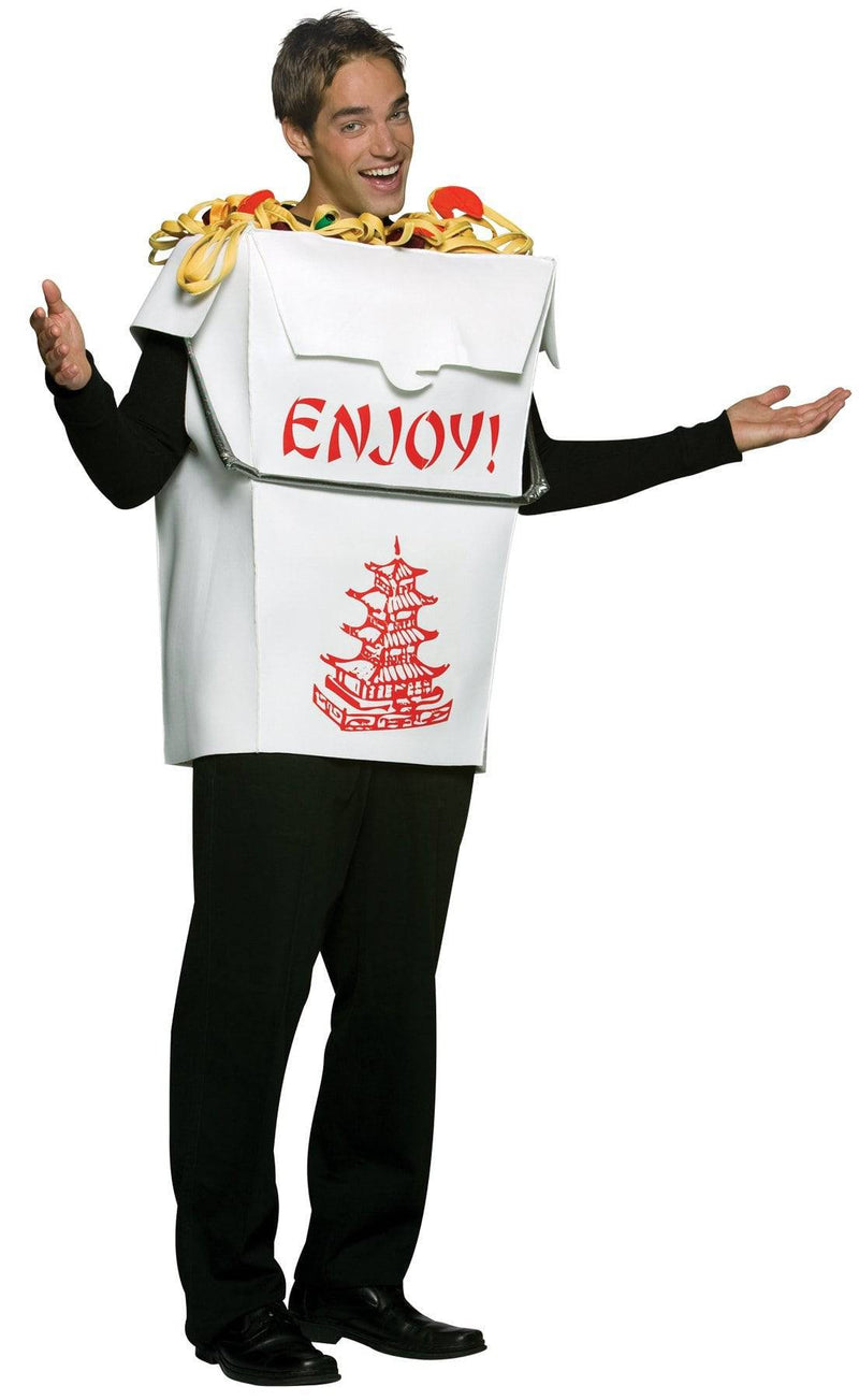 Rasta Imposta Men's Funny Theme Chinese Take Out Costume - Costume Arena