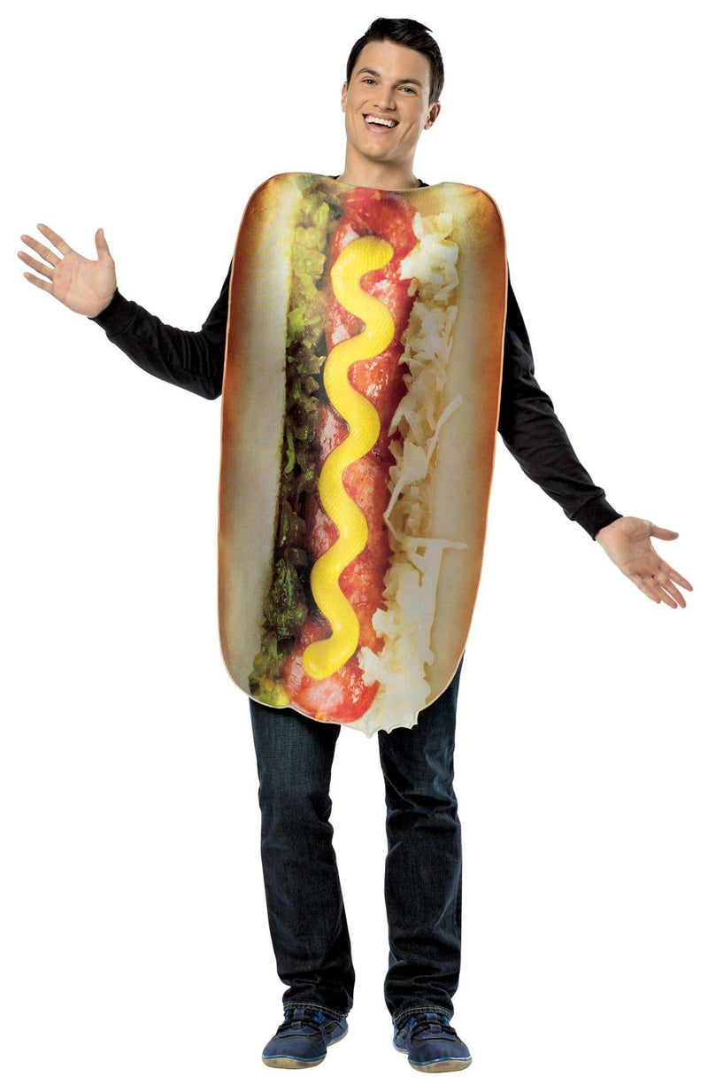 Rasta Imposta Men's Theme Get Real Loaded Hot Dog Costume - Costume Arena