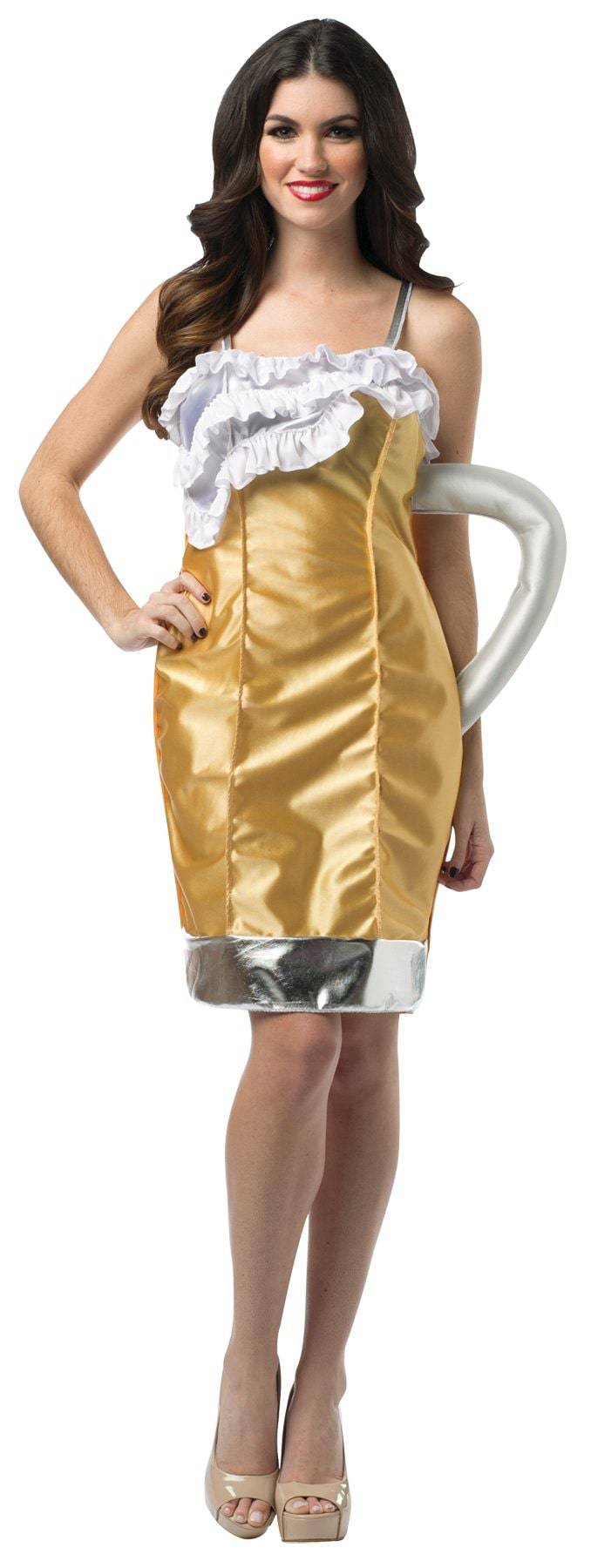 Rasta Imposta Women's Beer Mug Outfit Funny Adult Costume - Costume Arena
