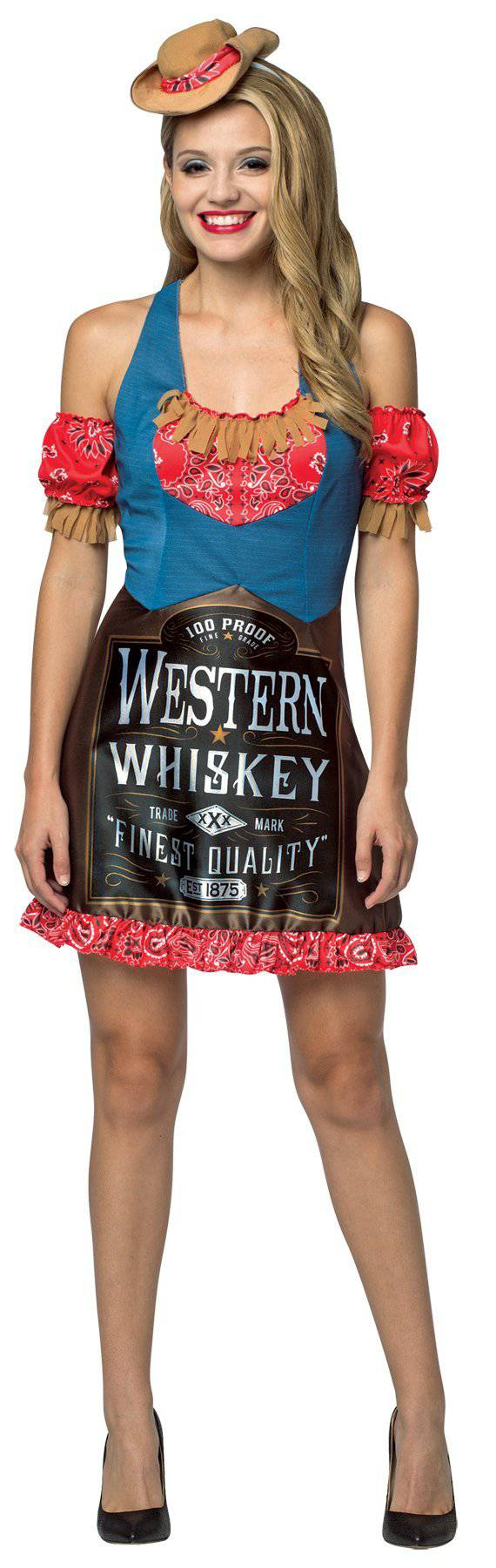 Rasta Imposta Women's Funny Theme Whiskey Adult Costume - Costume Arena