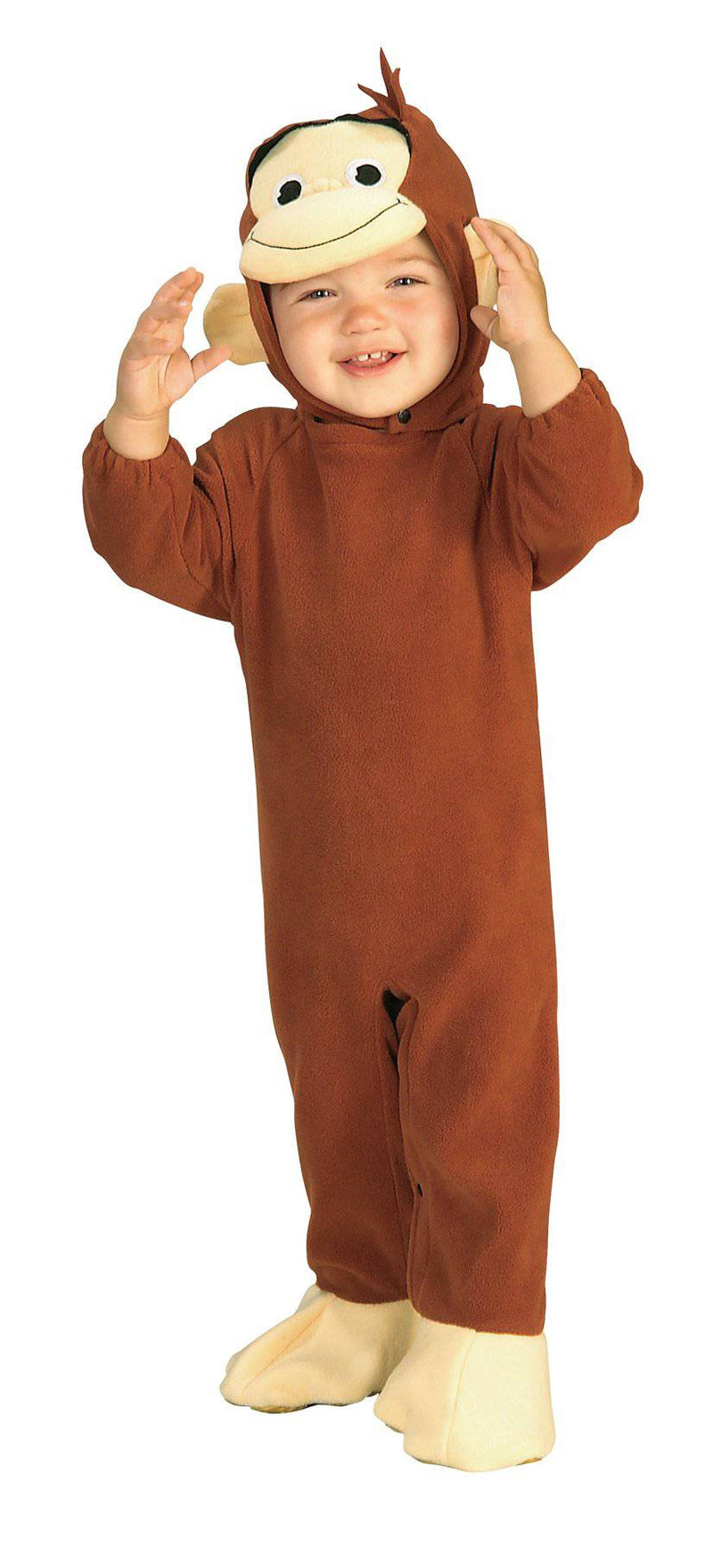 Rubie's Baby Boy's Curious George Infant Costume - Costume Arena