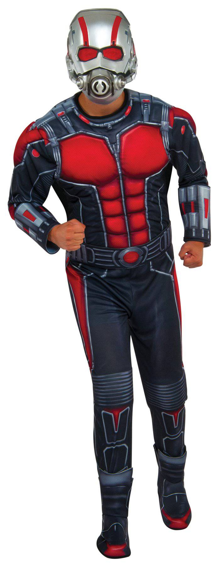 Rubie's Men's Deluxe Muscle Ant-Man Theme Costume - Costume Arena