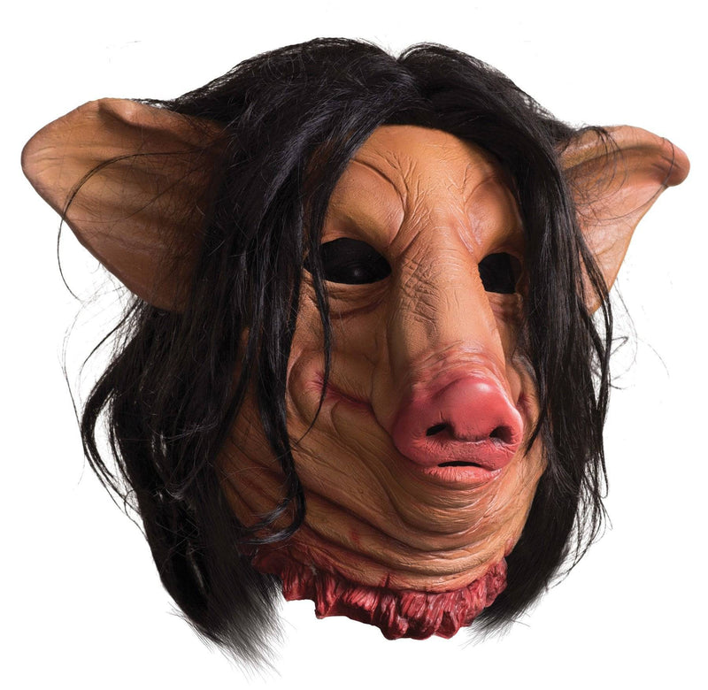 Rubie's Men's Saw Pig Face Theme Adult Latex Mask - Costume Arena