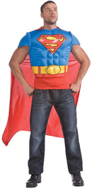 Rubie's Men's Superman Muscle Chest Shirt Costume - Costume Arena