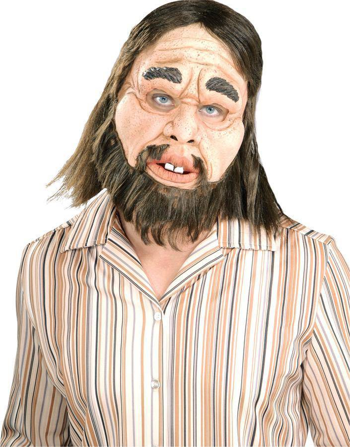 Rubie's Realistic Look Caveman Adult Latex Mask - Costume Arena