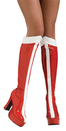 Rubie's Wonder Woman Boots Adult Costume Accessory - Costume Arena