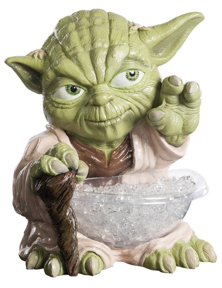 Rubie's Yoda Candy Bowl Holder Christmas Decorations - Costume Arena