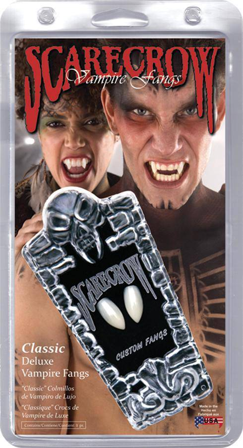 Scarecrow Scarecrow Fangs Halloween Costume Accessory - Costume Arena