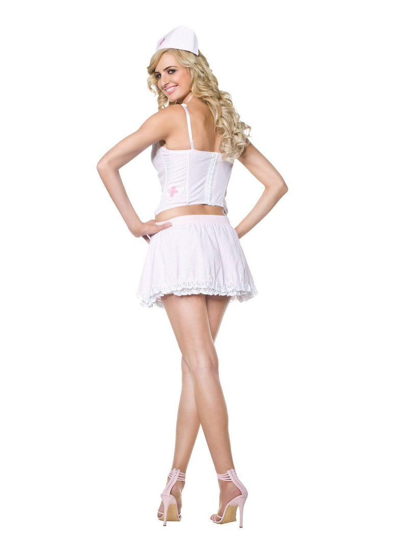 Seven 'til Midnight Women's Candy Striper Theme Party Costume - Costume Arena