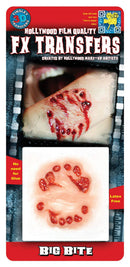 Tinsley Transfers Big Bite - 3D FX Transfers Gothic Accessory - Costume Arena
