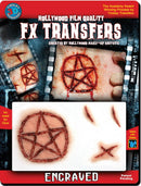 Tinsley Transfers Engraved - 3D FX Transfers Gothic Accessory - Costume Arena