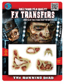 Tinsley Transfers The Running Dead 3D Tattoo Gothic Accessory - Costume Arena