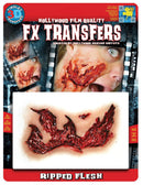Tinsley Transfers Transfers Md Ripped Flesh 3D F Accessory - Costume Arena