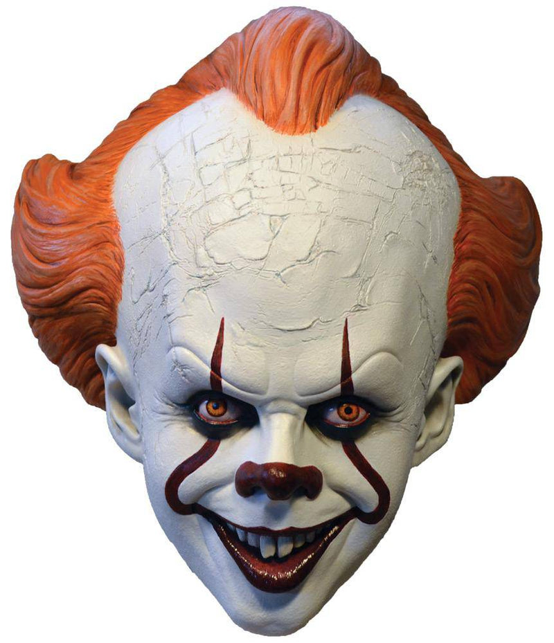 Trick or Treat Studios Pennywise Standard Horror Movie Adult Mask - Costume Arena