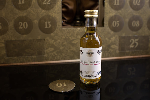 The Scotch Whisky Advent Calendar Number 1 - 1999 Tomintoul 15 Year Old by AD Rattray