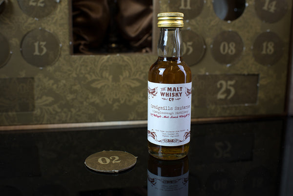 The Scotch Whisky Advent Calendar Door Number 2 Craigmills Sauterne