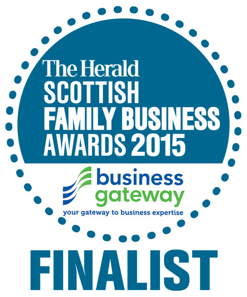 Angels Share Glass is a The Herald Scottish Family Business Awards Finalist