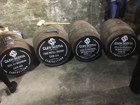 Glen Scotia Warehouse Tasting