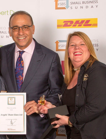Karen Somerville and Theo Paphitis