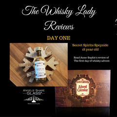 The Whisky Lady reviews our Scotch Whisky Advent Calendar