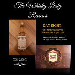 Scotch Whisky Calendar review day eight