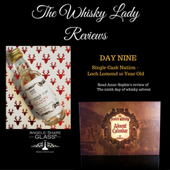 Scotch Whisky advent calendar - day nine