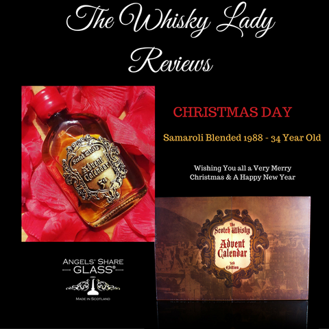 Scotch Whisky Advent Christmas Day