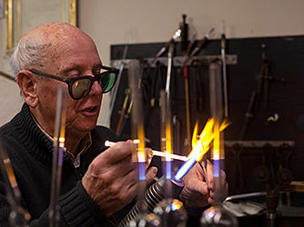 Tom Young, Master Glassblower