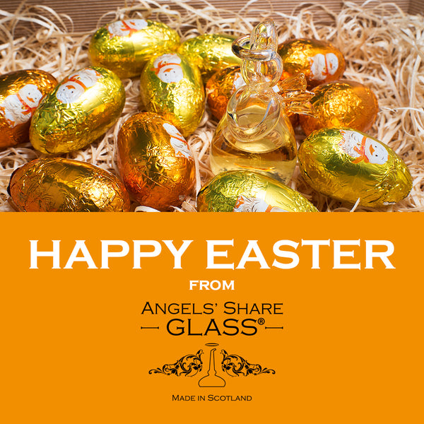 Happy Easter from Angels' Share Glass