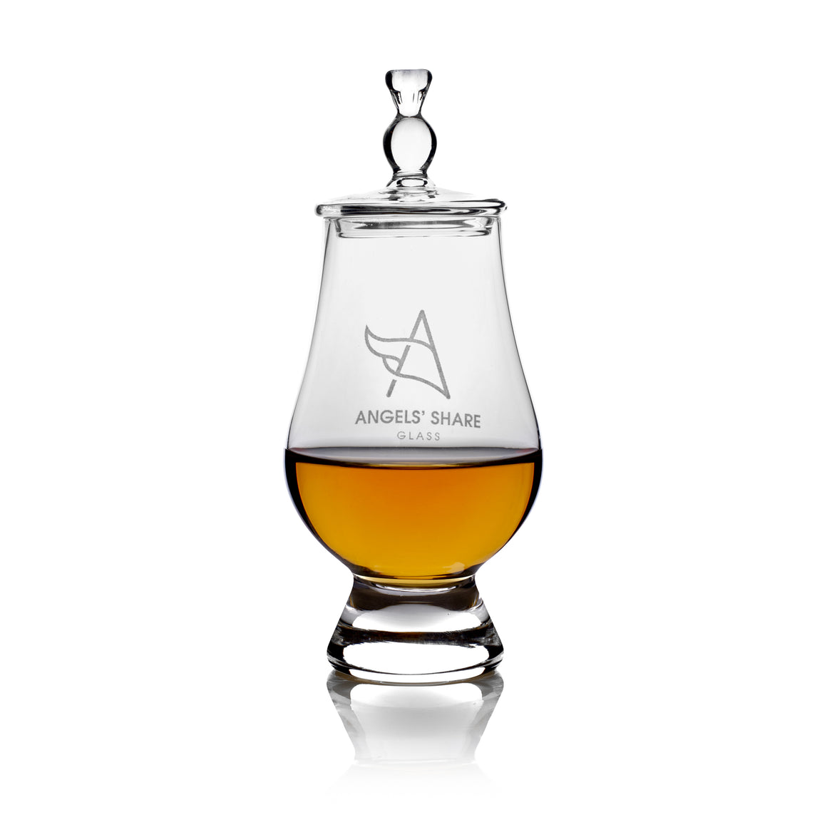 Glencairn Whisky Glass and Lid (Standard Size)